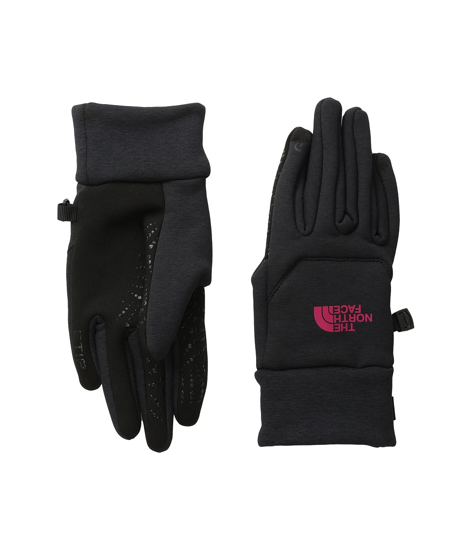 The North Face - Etip Hardface Gloves (TNF Black/Cherise Pink) Extreme Cold Weather Gloves
