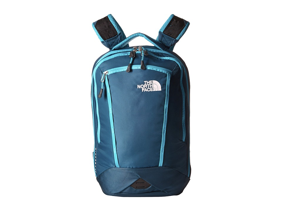 The North Face Microbyte Blue Coral/Bluebird Backpack Bags