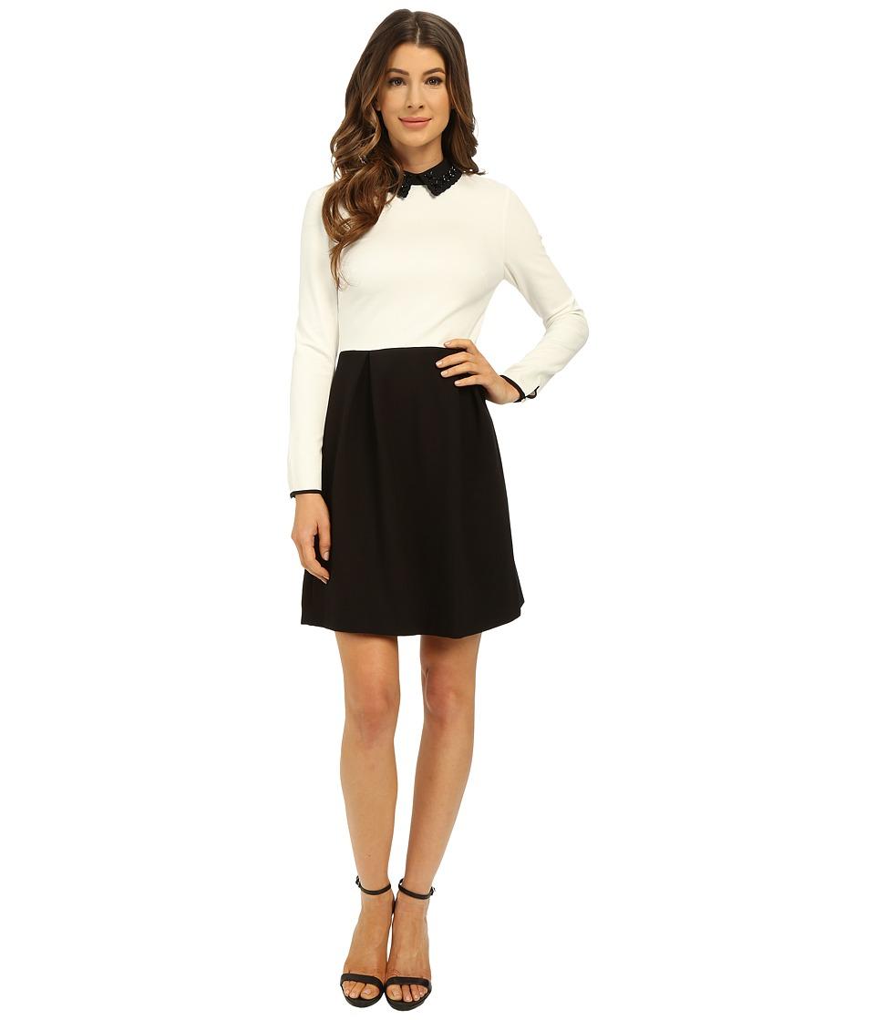 Ted Baker Lailah Decorative Collar Dress Black Womens Dress