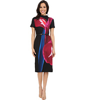 Ted Baker - Sianne Stencilled Stems Midi Dress