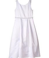Us Angels - Organza Sleeveless A-Line Dress w/ Beaded Trim (Little Kids/Big Kids)