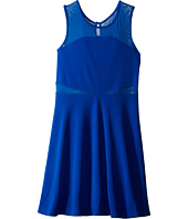Us Angels - Pique Sleeveless Illusion Dress (Big Kids)