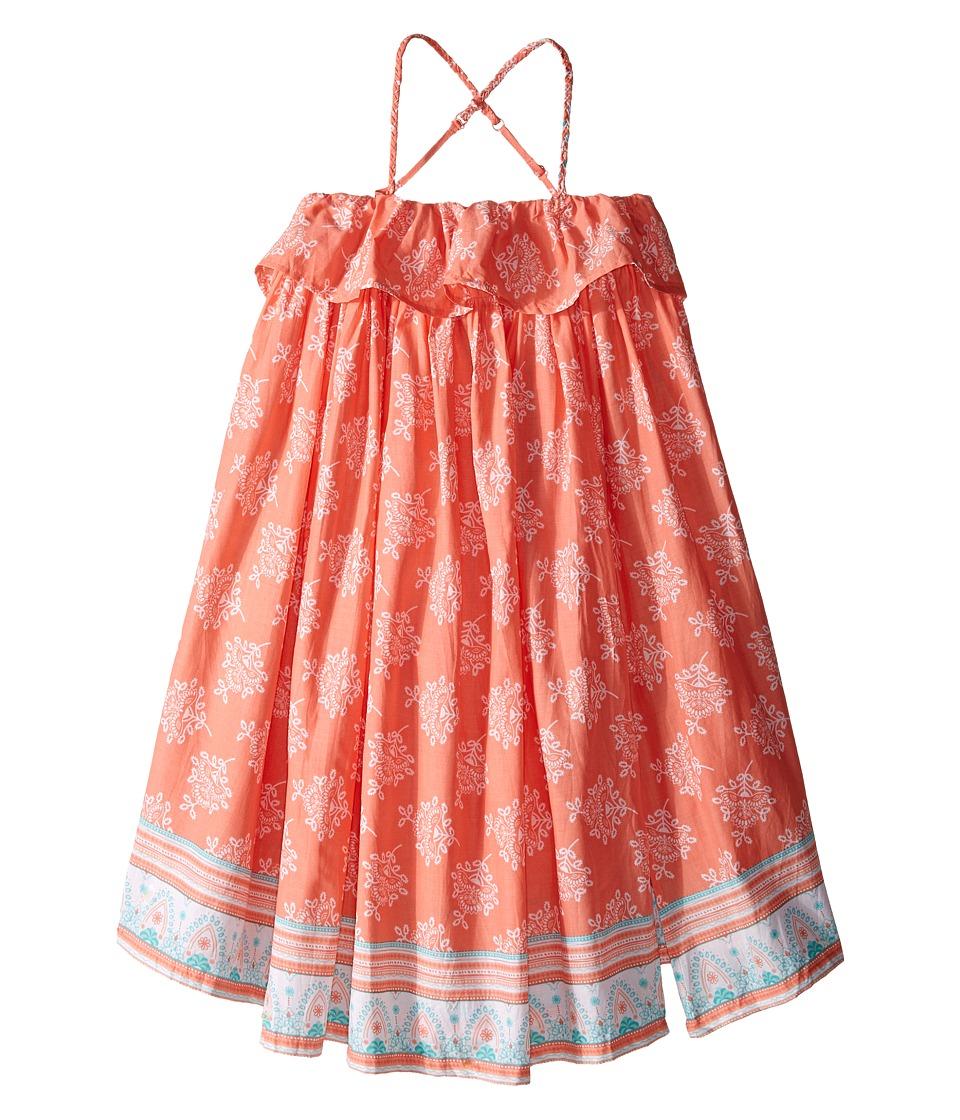 Pumpkin Patch Kids Border Print Maxi Dress Infant/Toddler/Little Kids Desert Flower Girls Dress