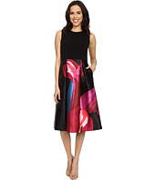 Ted Baker - Kathlee Stencilled Stems Print Dress