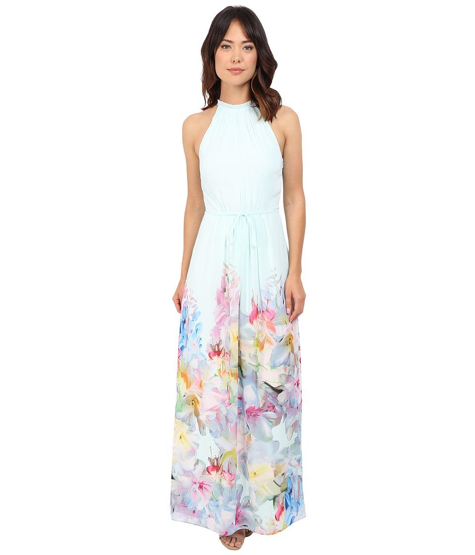 Ted Baker Ellore Hanging Gardens Border Maxi Mint Womens Dress