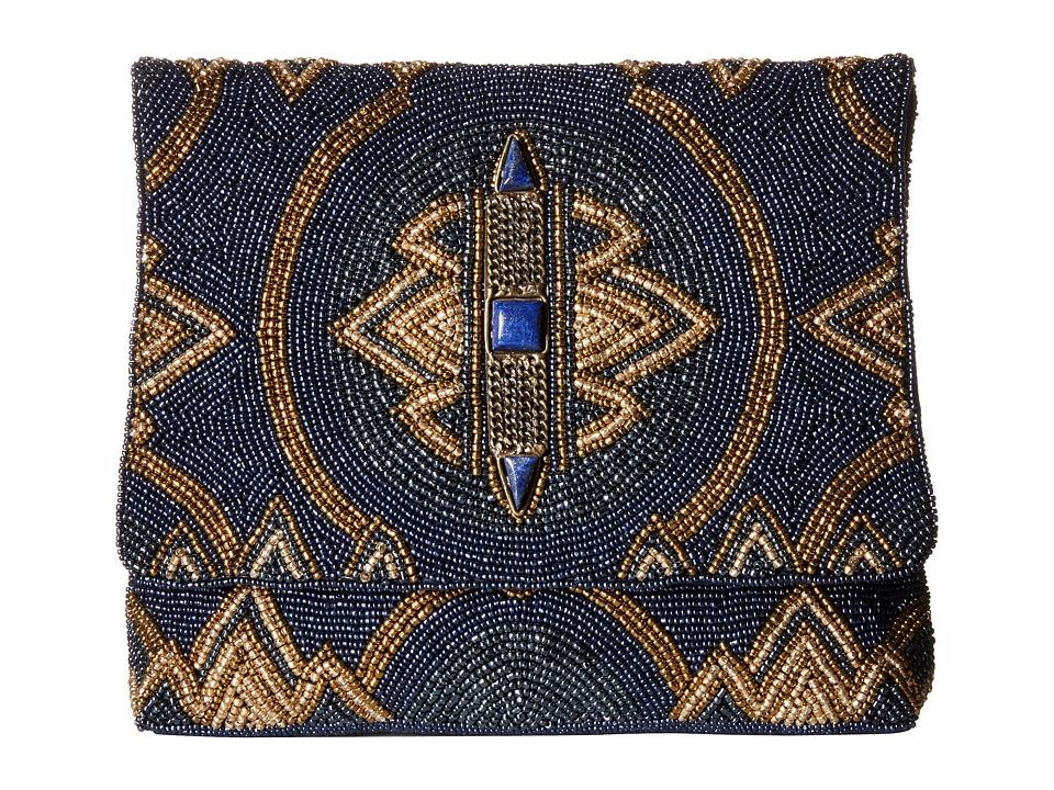 Mary Frances - Wild Blue (Blue) Clutch Handbags
