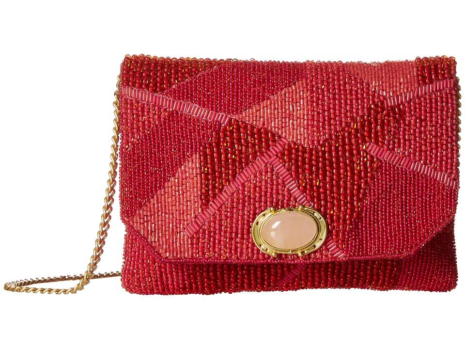 Mary Frances - Tickle Me Pink (Pink) Shoulder Handbags