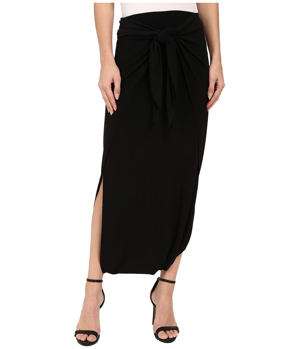KAMALIKULTURE by Norma Kamali Diaper Skirt Black Womens Skirt