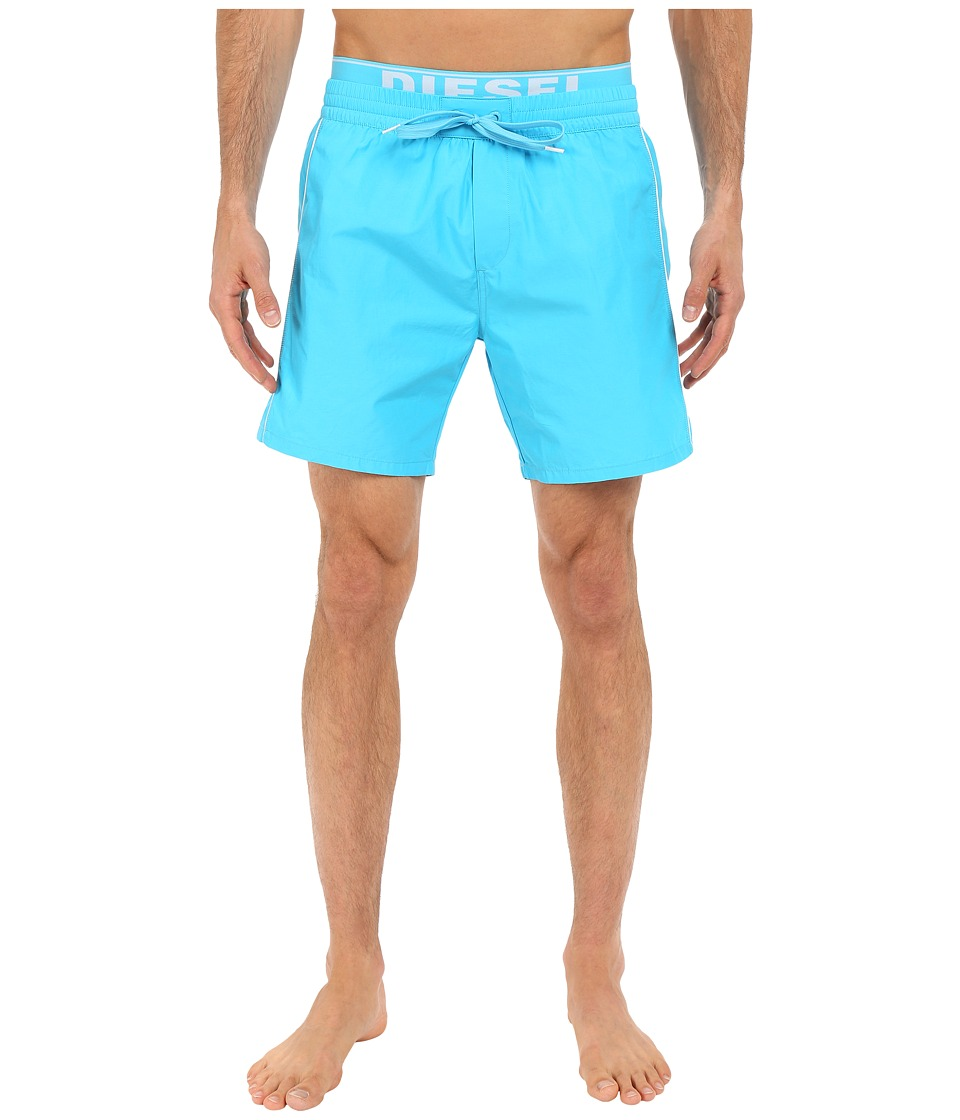 Diesel Dolphin E Boxer Medium KAKY Light/Blue Mens Swimwear