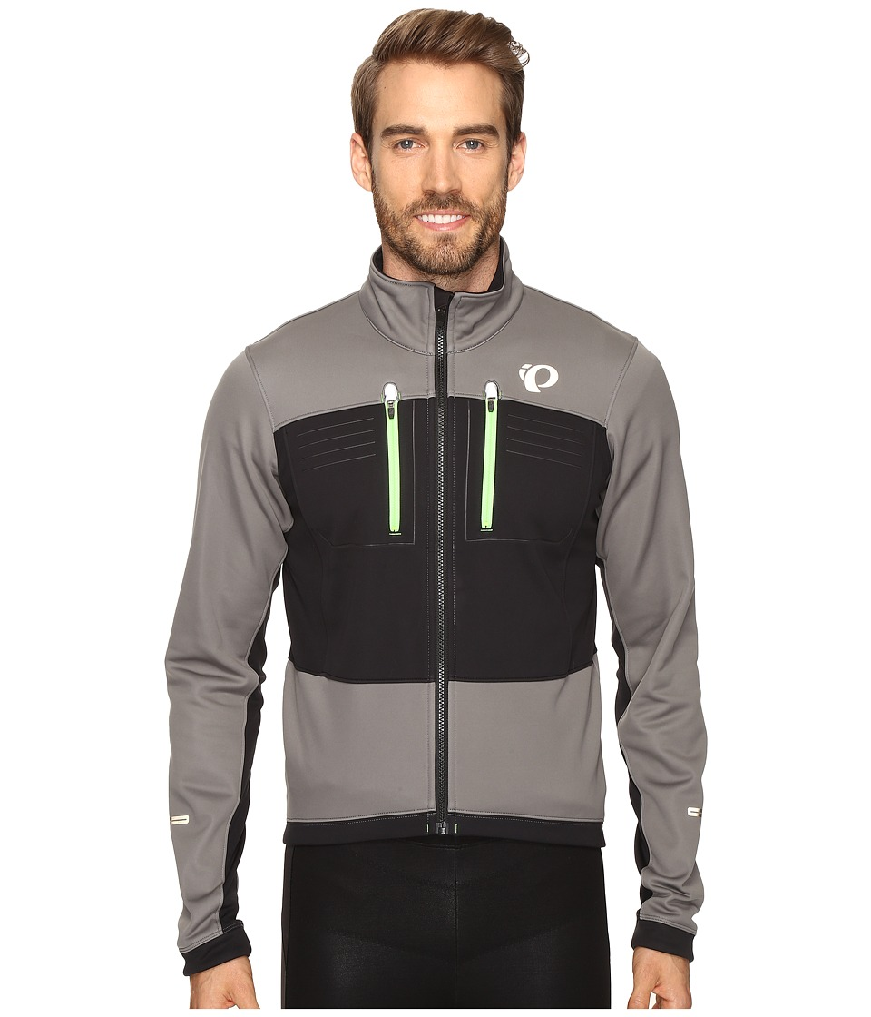 Pearl Izumi Elite Escape Softshell Jacket (Smoked Pearl/Black) Men