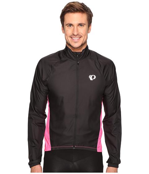 Pearl Izumi ELITE Barrier Cycling Jacket - Black/Screaming Pink