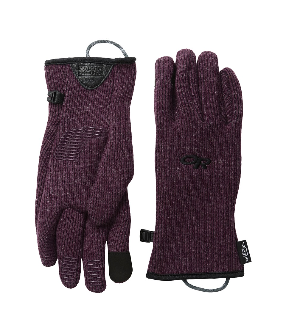 Outdoor Research Flurry Sensor Gloves (Pinot) Extreme Cold Weather Gloves