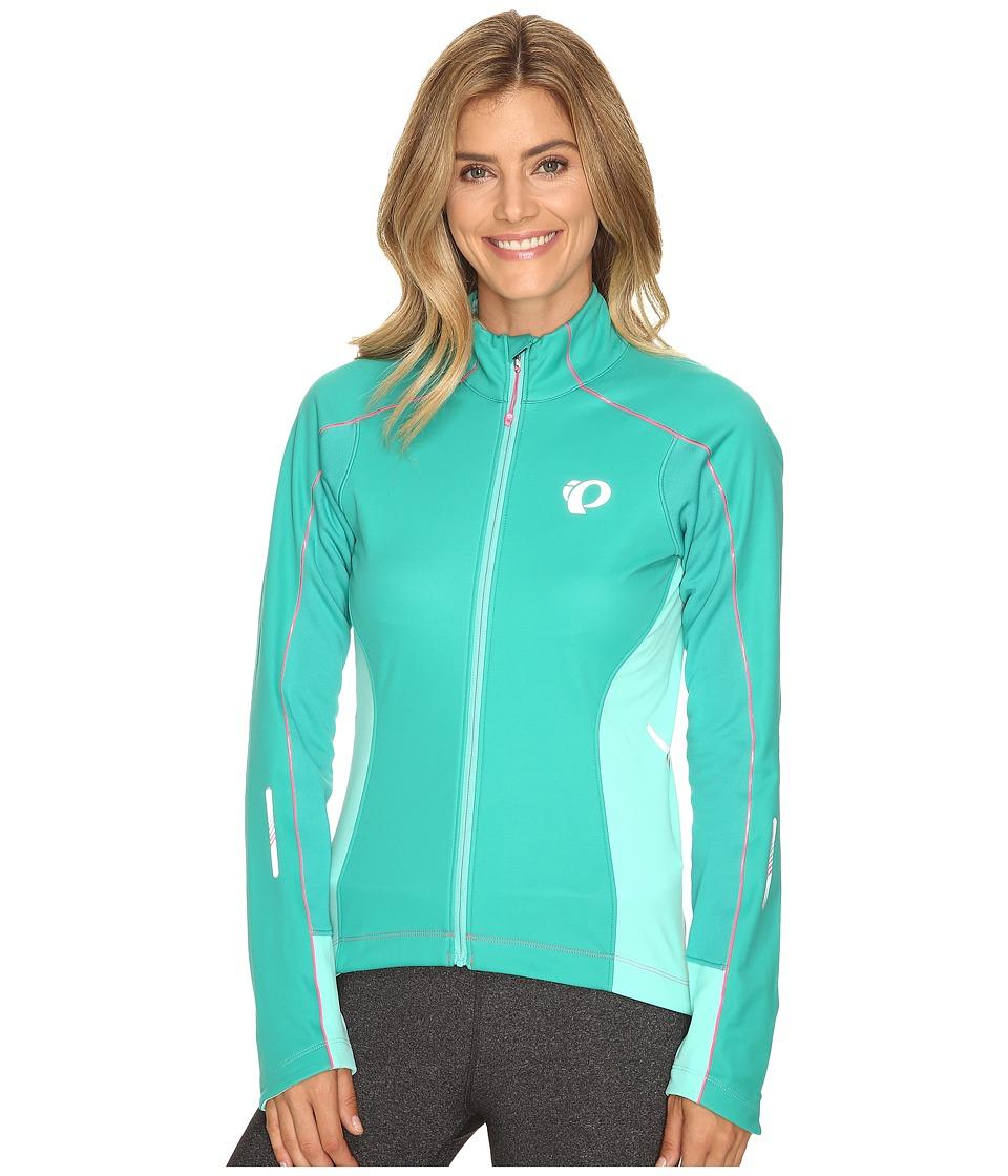 Pearl Izumi W Elite Pursuit Softshell Jacket (Dynasty Green/Aqua Mint) Women