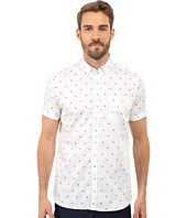 Ted Baker - Mydance Short Sleeve Floral Spot Print Shirt