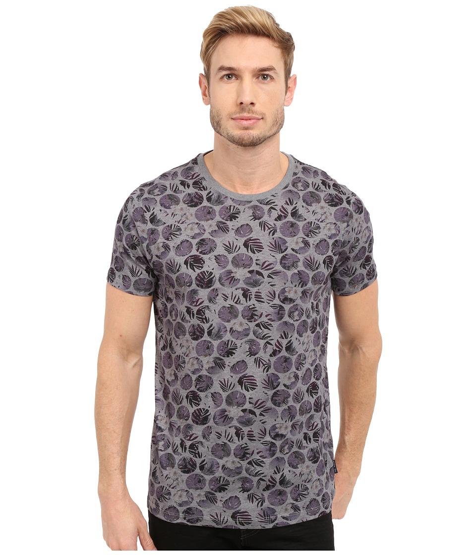 Ted Baker Eeyore Spot All Over Printed T Shirt Purple Mens T Shirt