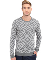 Ted Baker - Jakgee All Over Jacquard Long Sleeve Crew Neck