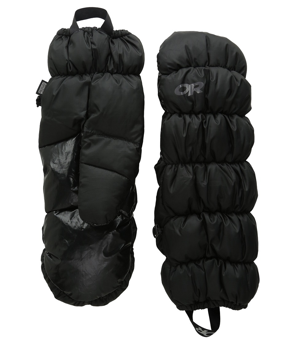 Outdoor Research Transcendent Mitts (Black) Extreme Cold Weather Gloves