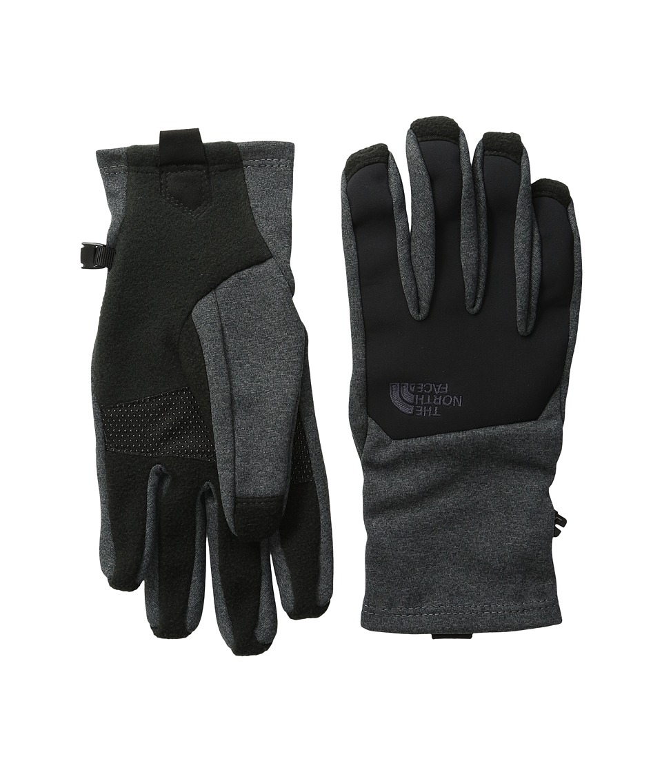 The North Face Canyonwall Etip Gloves (TNF Dark Grey Heather) Extreme Cold Weather Gloves