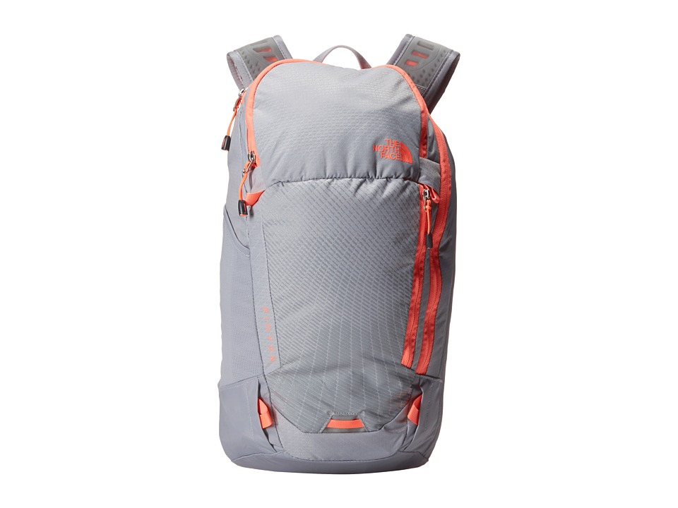The North Face - Pinyon (Dapple Grey/Tropical Coral) Backpack Bags
