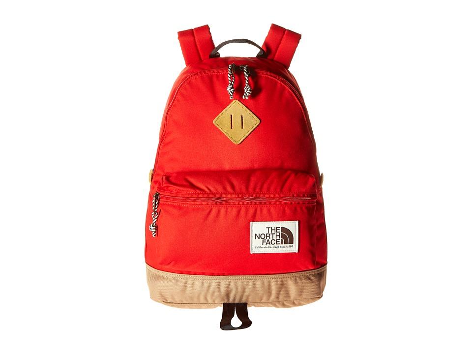 The North Face - Mini Berkeley (Little Kid/Big Kid) (Fiery Red/Asphalt Grey) Backpack Bags