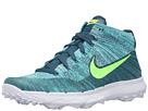 Nike Golf FI Flyknit Chukka (Rio Teal/Midnight Turquoise/Hyper Jade/Volt)