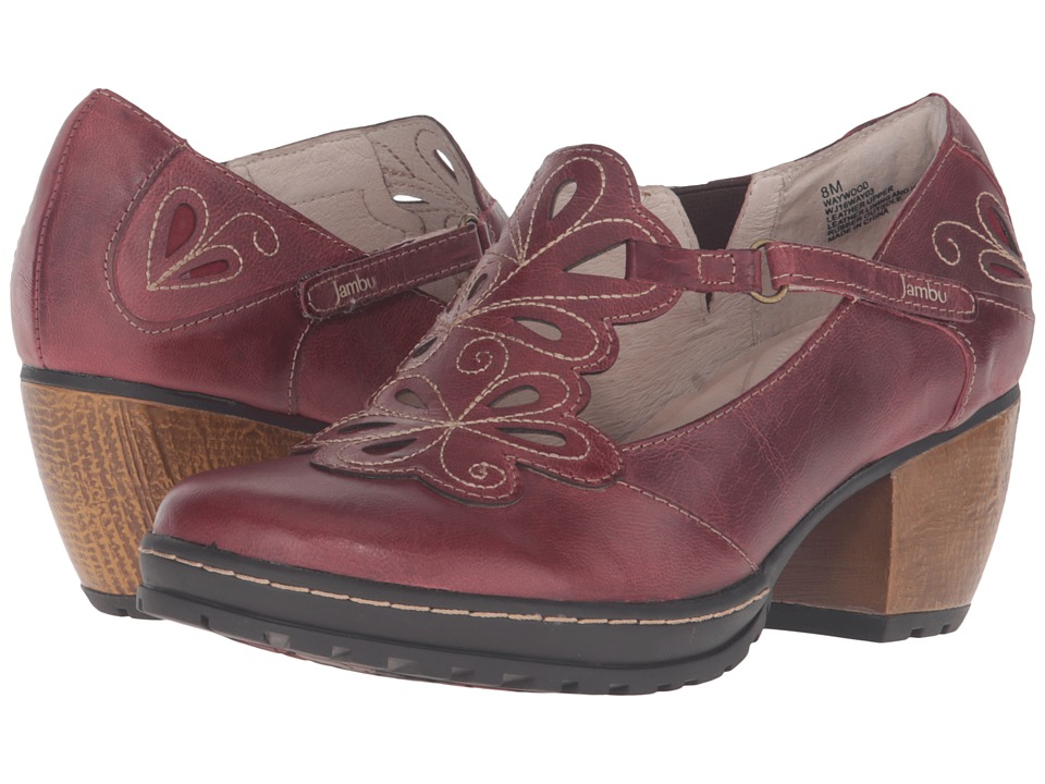 Jambu - Waywood (Deep Red) Women