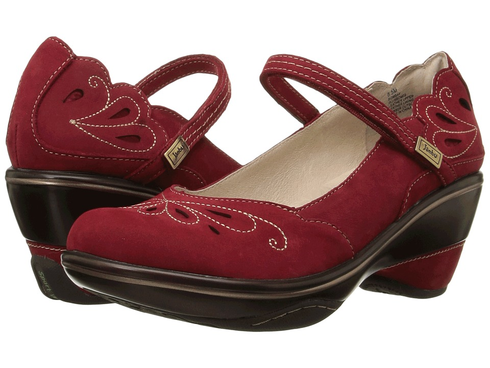 Jambu - Bombay (Deep Red/Tan) Women