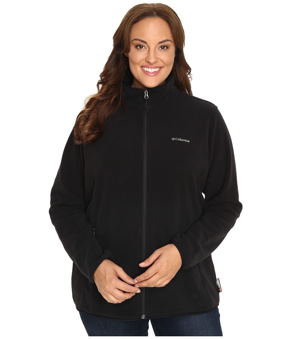 Columbia Plus Size Fuller Ridge Fleece Jacket (Black) Women