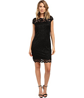 rsvp - Short Margaux Lace Cap Sleeve Dress