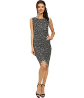 rsvp - Two-Tone Glitter Lace Dress