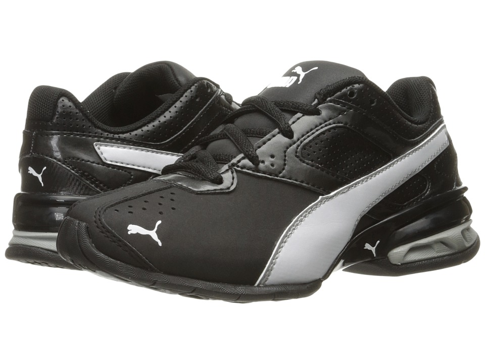 Puma Kids Tazon 6 SL PS (Little Kid/Big Kid) (Puma Black/Puma White/Puma Silver) Boys Shoes
