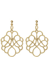 Oscar de la Renta - Looped Rope P Earrings