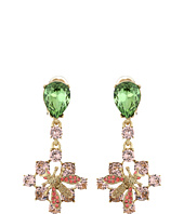 Oscar de la Renta - Crystal Bee Small Drop C Earrings