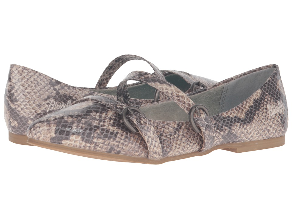 Blowfish - Zaza (Grey Mercury Snake PU) Women