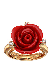 Oscar de la Renta - Semi-Precious and Resin Rose Ring