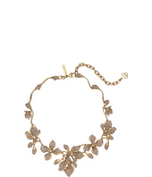 Oscar de la Renta - Gradient Crystal Flower Necklace