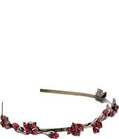 Oscar de la Renta - Gradient Crystal Flower Headband