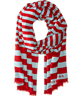 Marc Jacobs - Satin Stripe Scarf