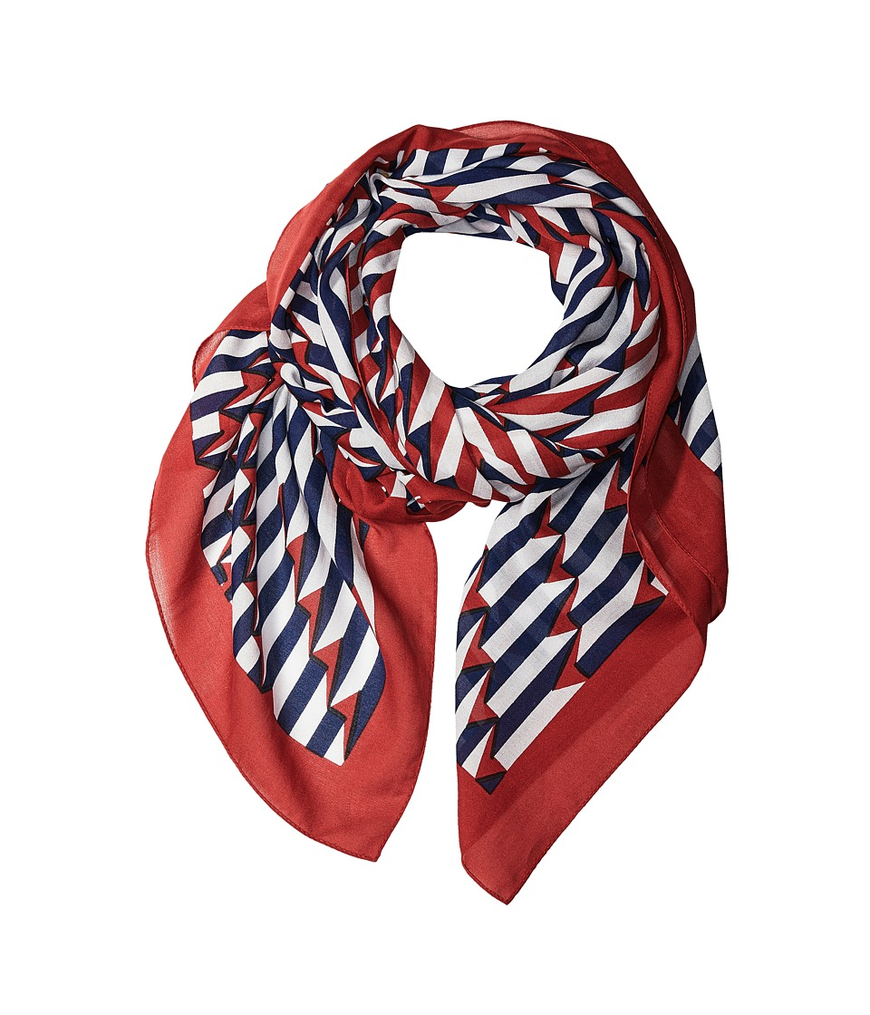 Marc Jacobs Arrow Head Scarf Kiss Multi Scarves