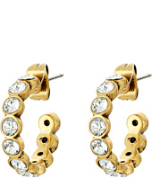 Marc Jacobs - Sparkle Small Crystal Hoops Earrings