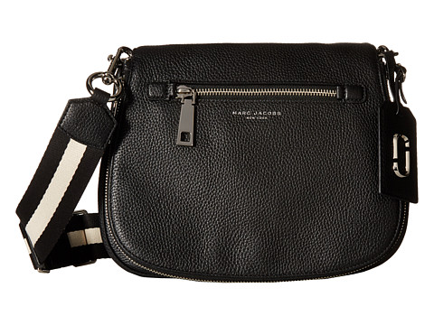 Marc Jacobs Gotham Saddle Bag - Black