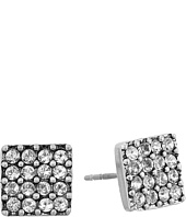 Marc Jacobs - Sparkle Crystal Square Studs Earrings