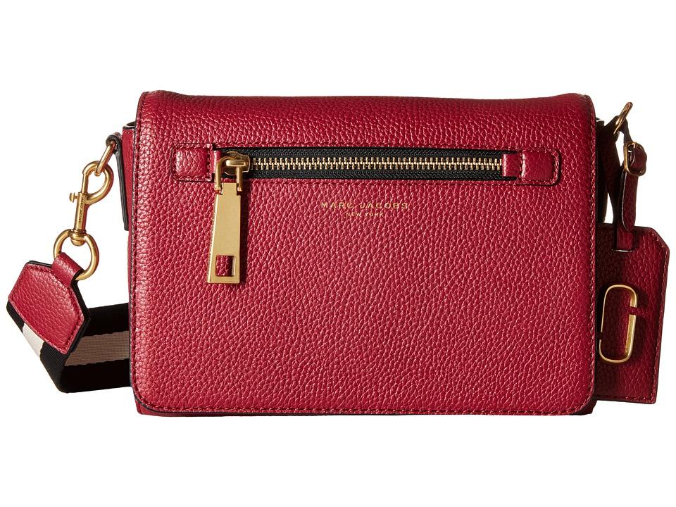 Marc Jacobs Gotham Small Shoulder Bag Merlot Shoulder Handbags