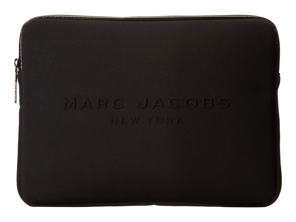 Marc Jacobs - Neoprene Tech 13 Computer Case (Black) Computer Bags