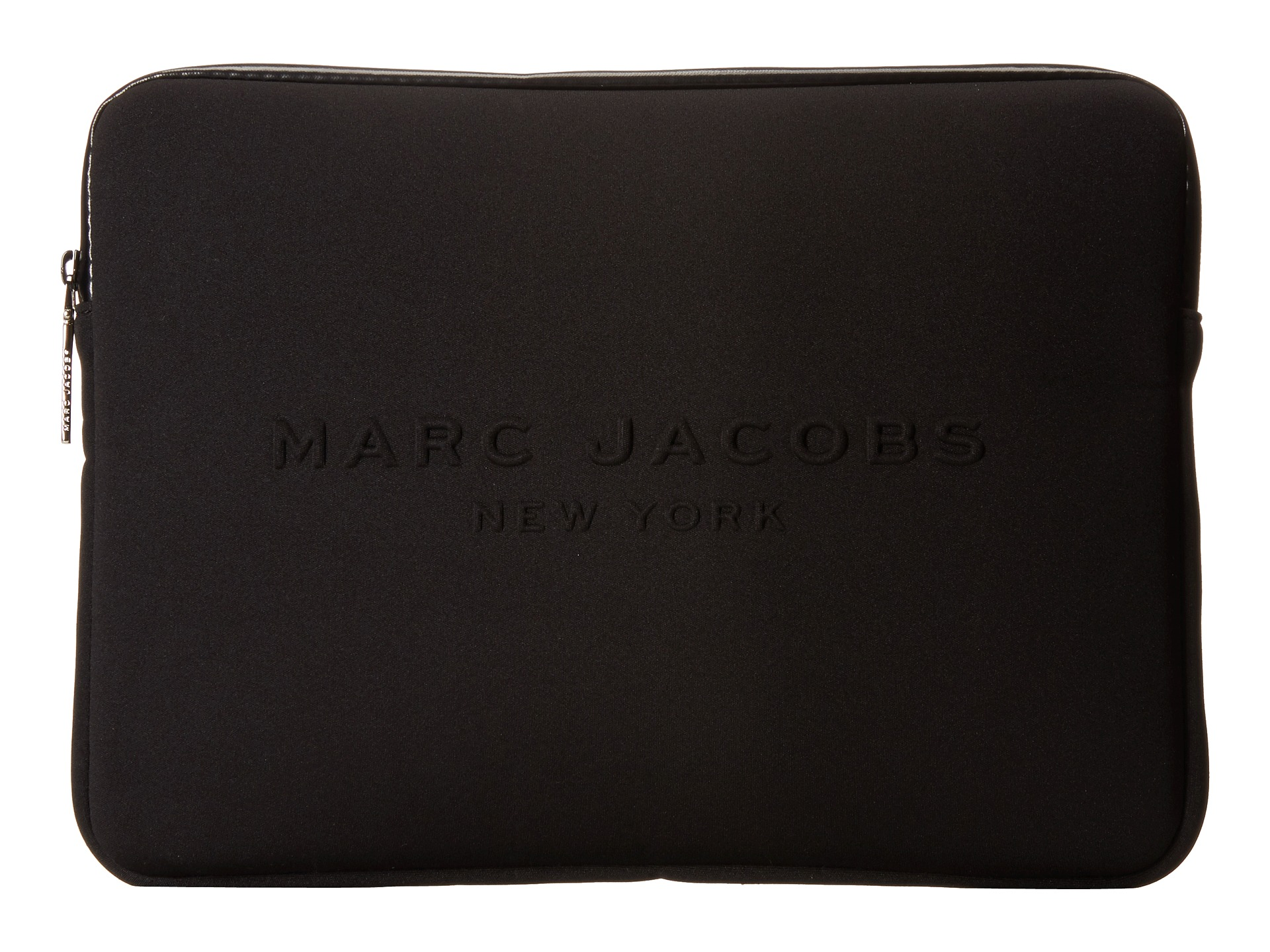 marc jacobs neoprene tech 13 computer case cobalt blue free shipping both ways. Black Bedroom Furniture Sets. Home Design Ideas