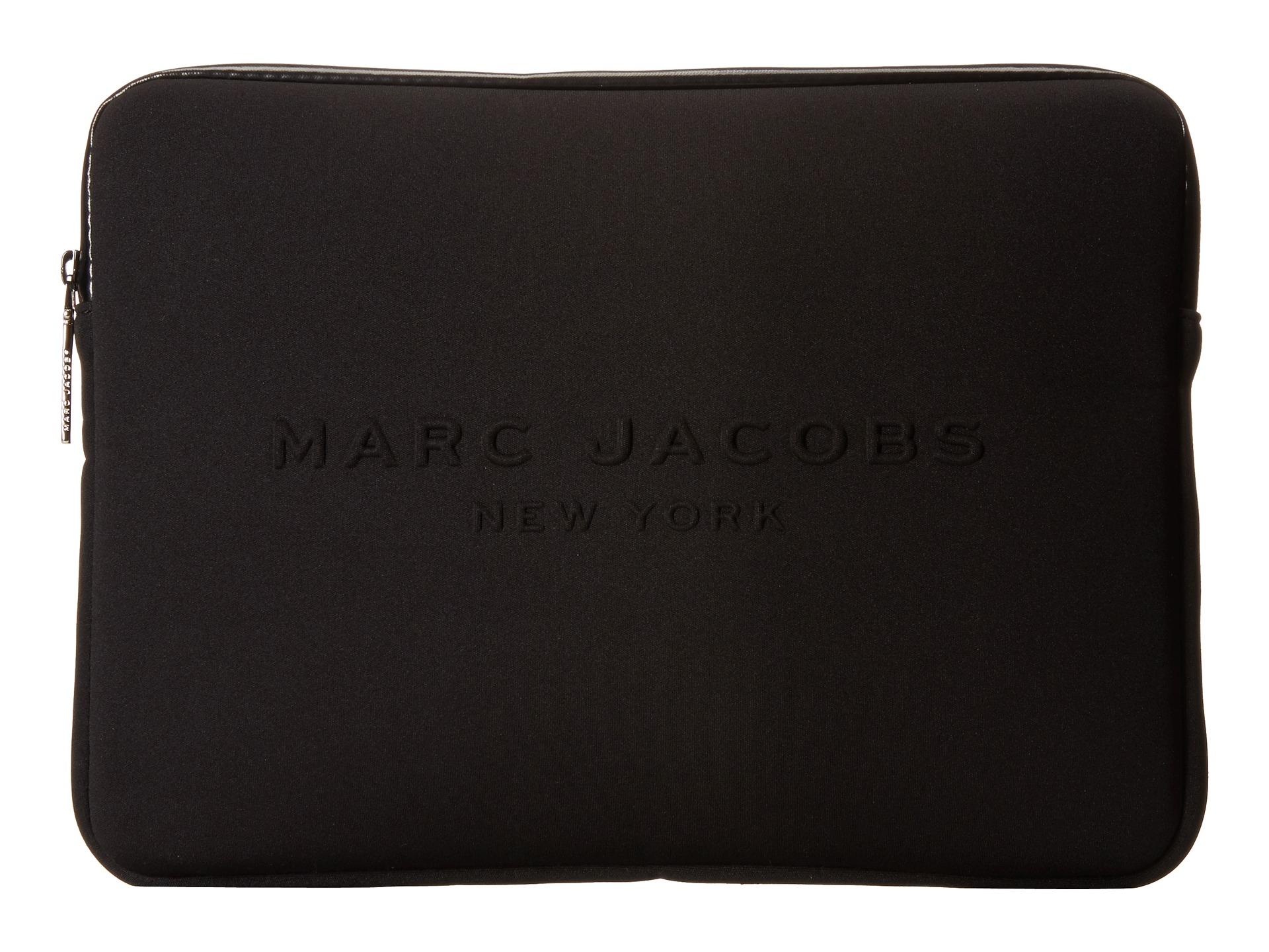 marc jacobs neoprene tech 13 computer case cobalt blue free shipping both ways. Black Bedroom Furniture Sets. Home Design Ideas