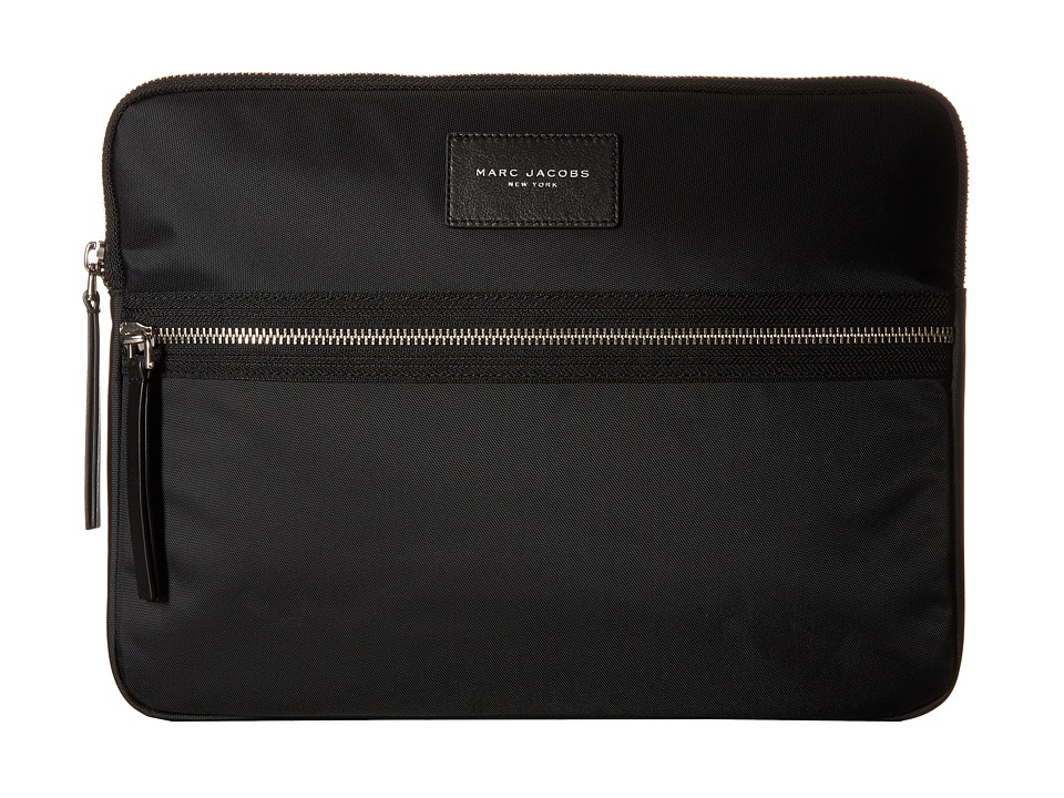 Marc Jacobs - Biker Tech 13 Computer Case (Black) Computer Bags