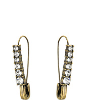 Marc Jacobs - Charms Safety Crystal Earrings