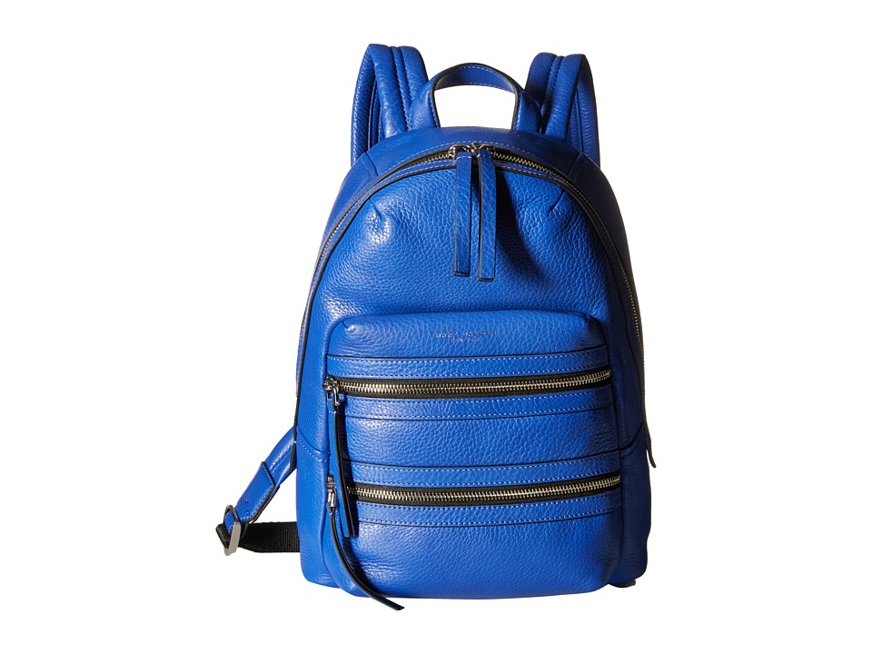 Marc Jacobs Biker Backpack Cobalt Blue Backpack Bags