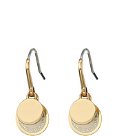 Marc Jacobs - Logo Disc Enamel Logo Disc Earrings